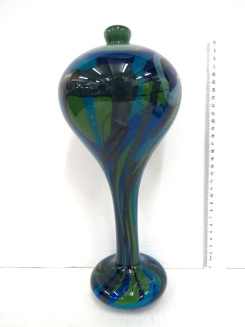 אגרטל זכוכית צבעוני
