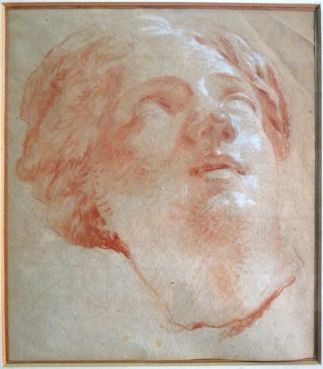 רישום ספיה, ראש פסל אישה מקור The Mestral de Saint Sahorin collection, נקנה ב Christie's ב21.2.1978