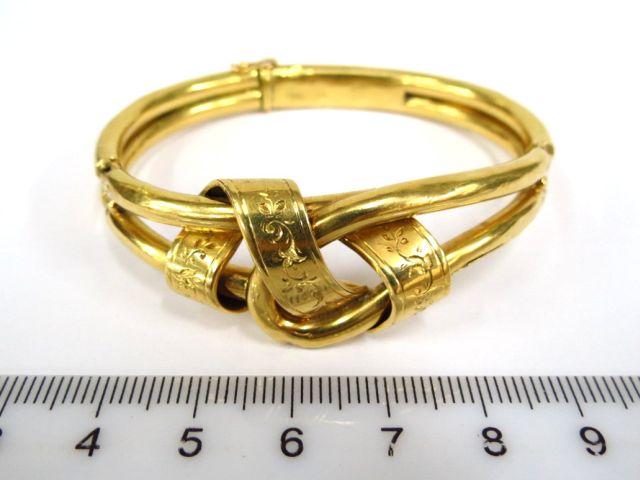 צמיד עתיק, זהב 18K