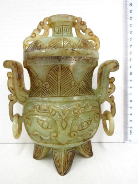 כלי ג'ייד סיני, סגנון שושלת האן