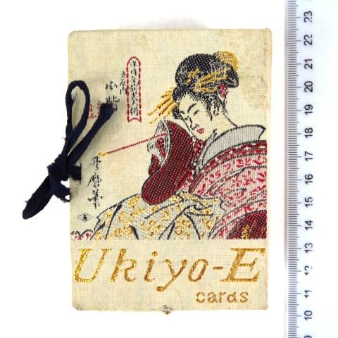 """משחק קלפים """"U Kiyo-E"""" יפן, על פי הדפסי עץ (שלם)"""