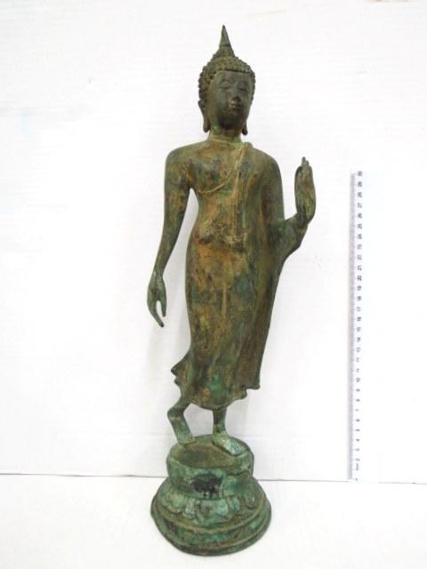 פיגורת ברונזה תאילנדית, סוקוטאי המהלך, Walking Sakotai, המאה ה19