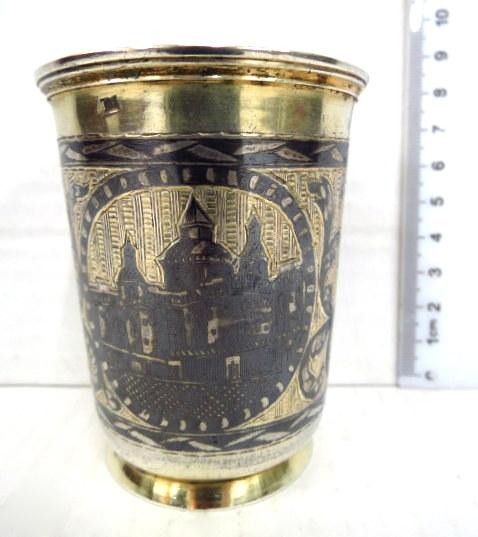 כוס כסף 84, מוסקבה, רוסיה 1832, חתום
