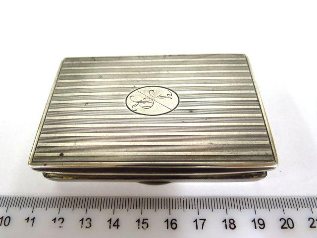קופסת טבק, כסף 835