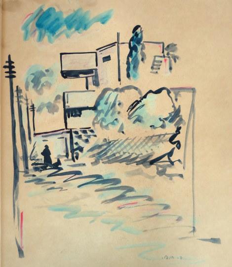 אקוורל, רחוב בתל אביב, חתום