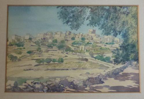אקוורל, כפר ערבי